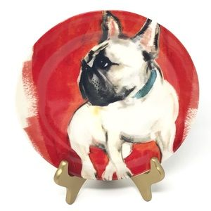 NWT Frenchie FRENCH BULLDOG Plate by Sally Muir